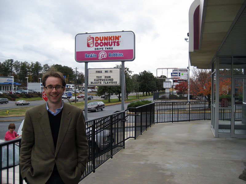 Guy and Dunkin Donuts