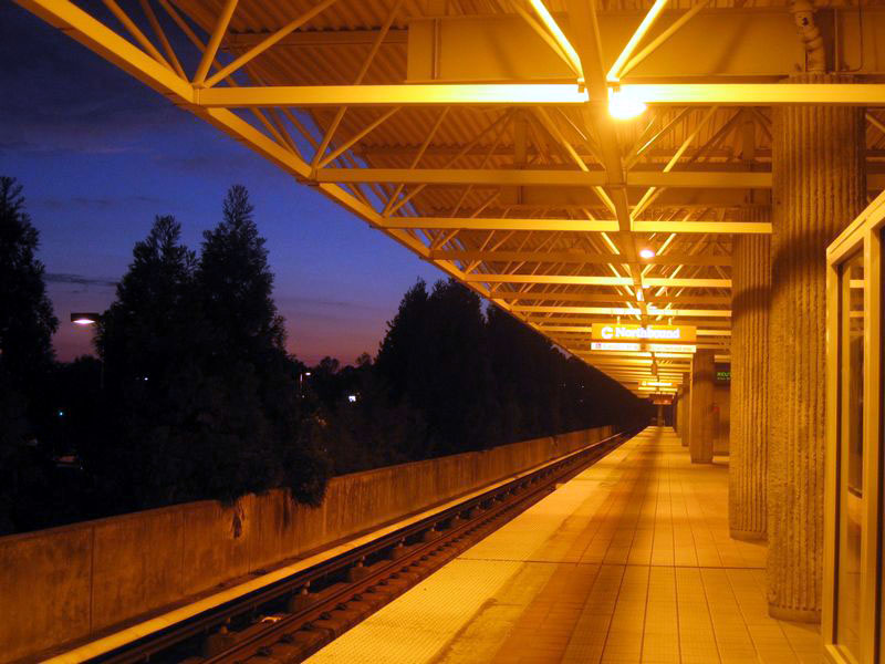 Marta, Atlanta, night