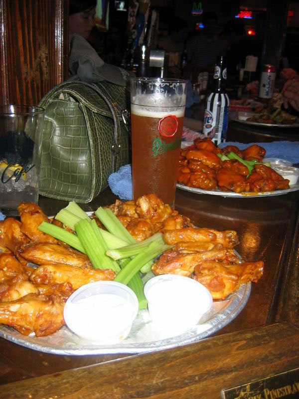 Chicken wings orgy