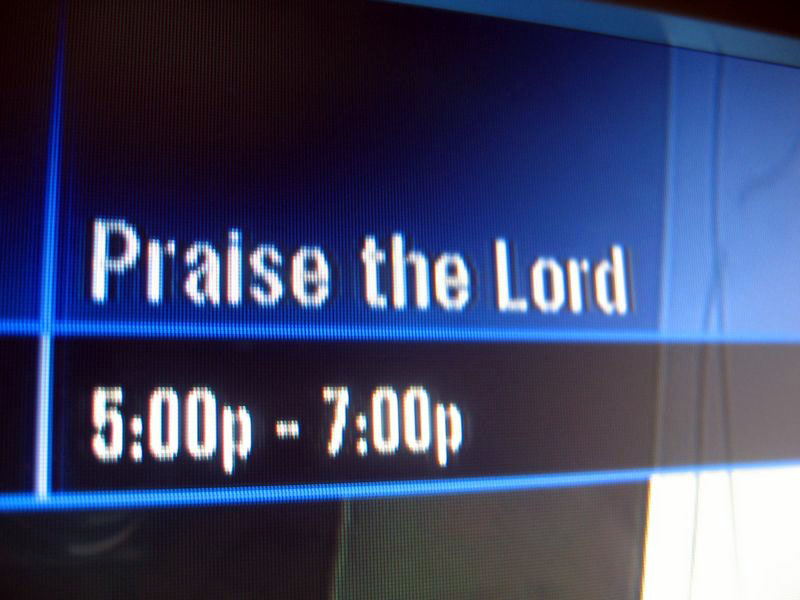 Two hours to praise the Lord.