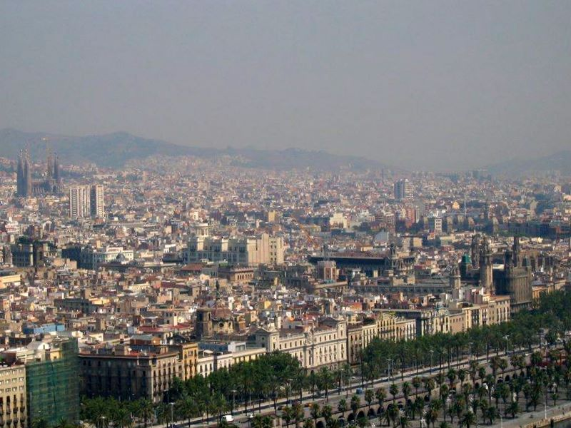 Barcelona. And the Sagrada Familia.