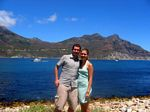 Hout Bay, me and Lindsey