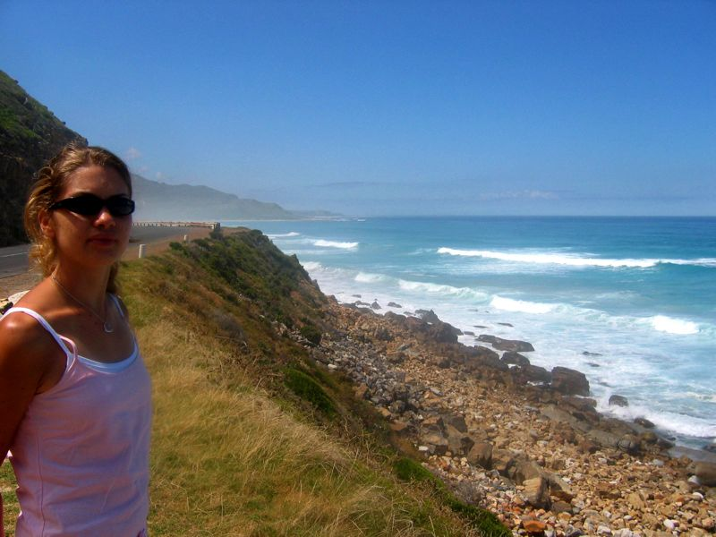 On the road, to Cape Point