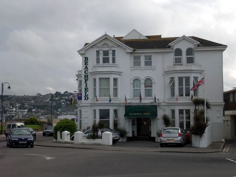 The beachfield hotel in Penzance