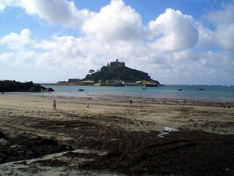 St Micheal's mount. Not too far away now