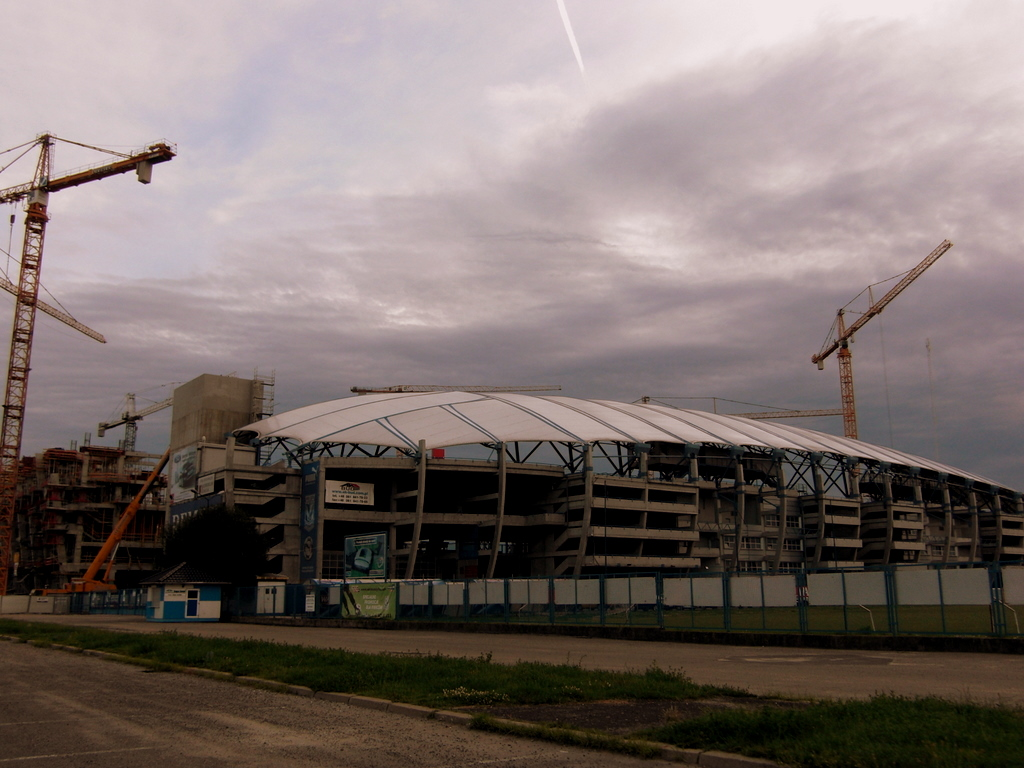 The new stadium in Poznan for 2012