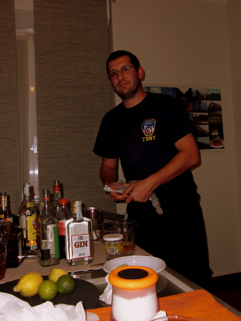 The barman of the party