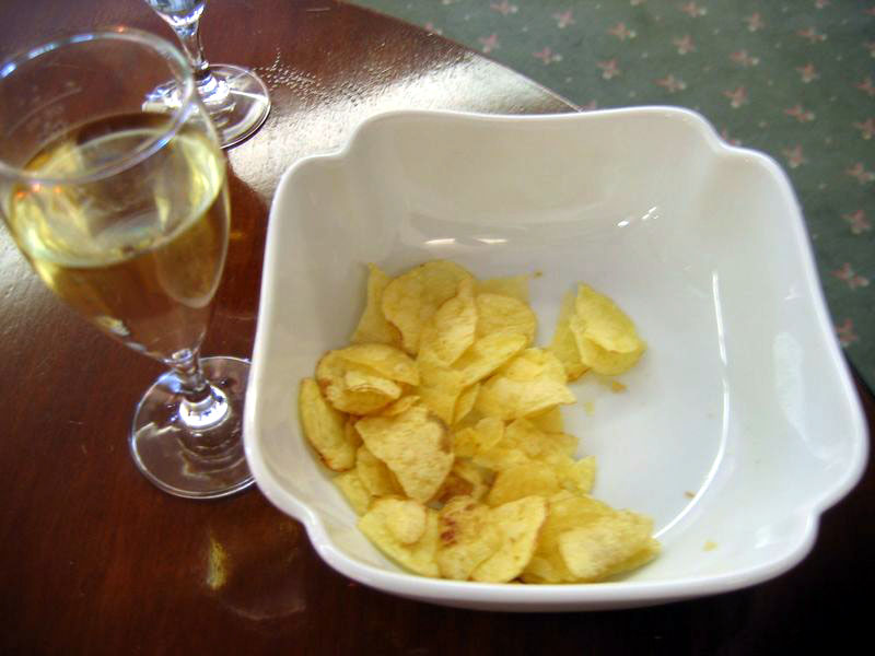 At Guy's parties, you can always expect crisps