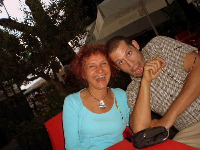 (Legnano) Me and my mum