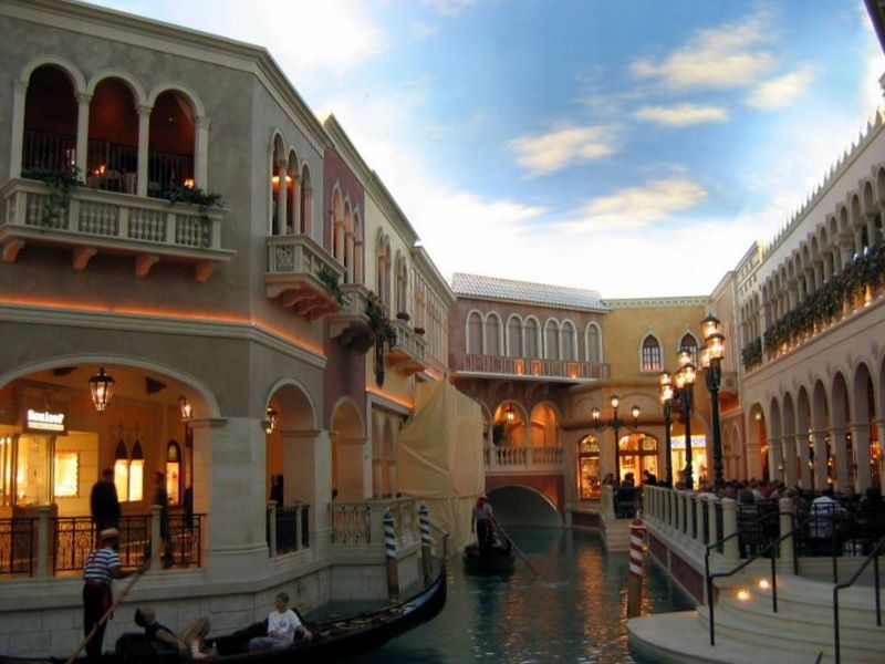 The Venetian Hotel - inside view