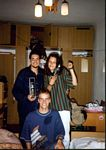 Olaf, Kinga and Chris, AWF Warsawa 1995