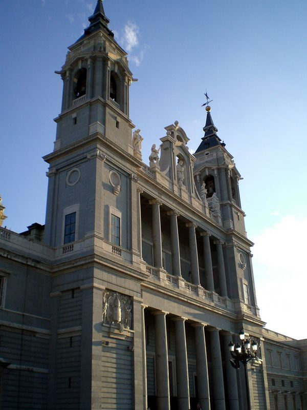 The Catedral de la Almudena