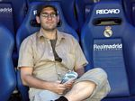 Olaf on the Real Madrid bench