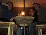 Me, Lins and Rob Dupree