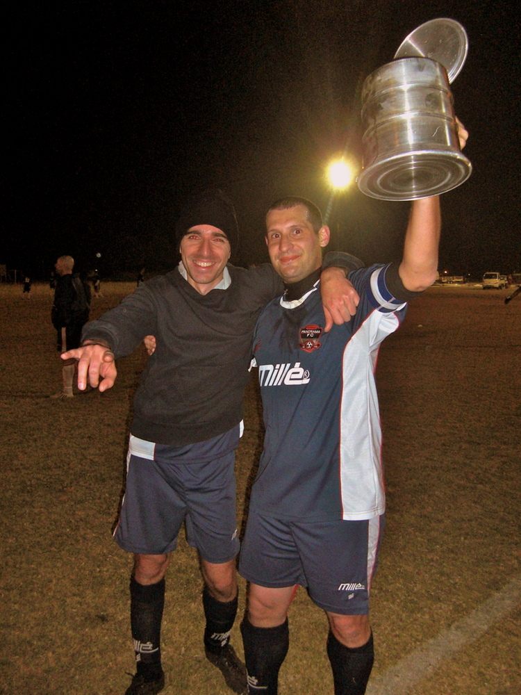 With Stoy, 2 years later our Cup triumph