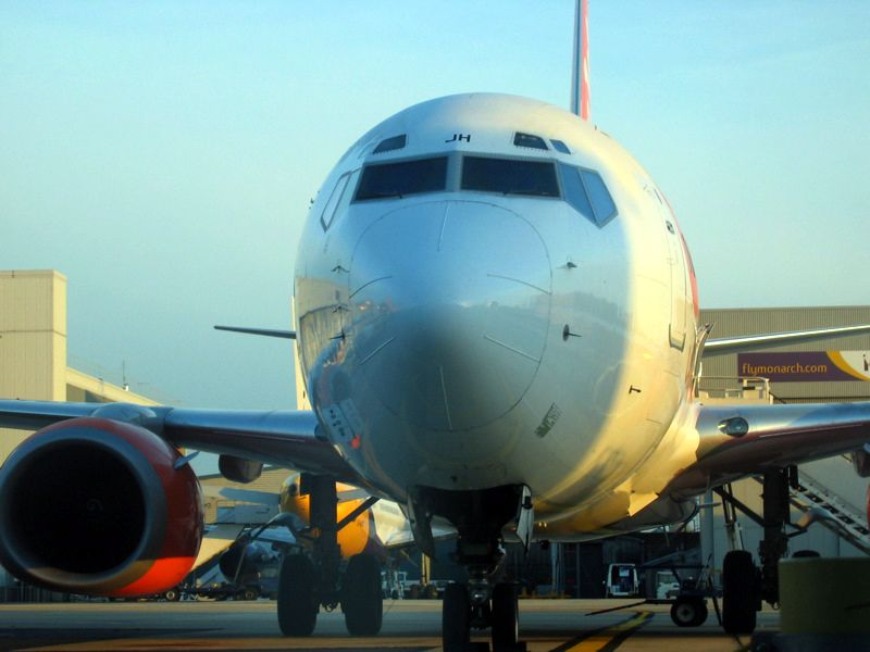 Easyjet plane to Poland