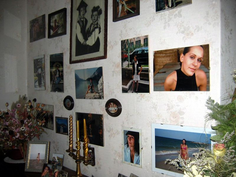 The wall of memories!