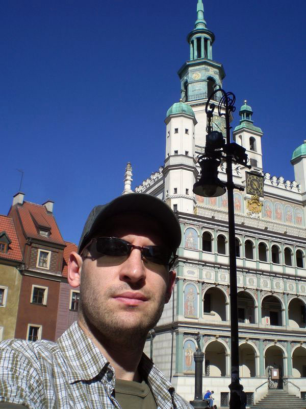 Me and the town hall (I've always liked it)