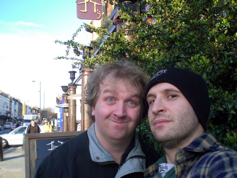 Last St Patrick's day: the walk of memory. Our first pub (Jim Thompson)