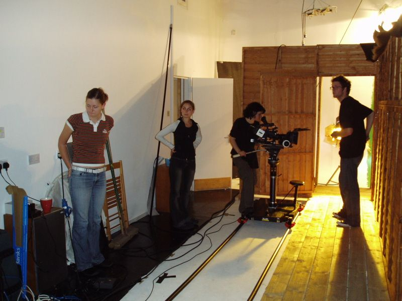 Setting up the dolly