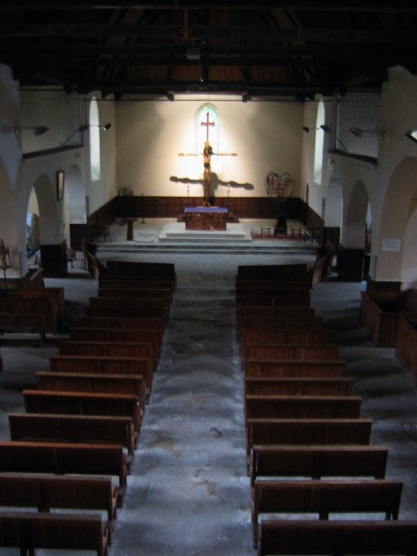 Inside the Small Church