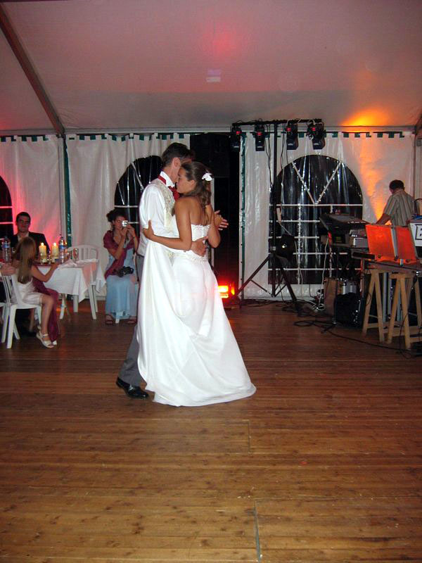 First dance with a girl
