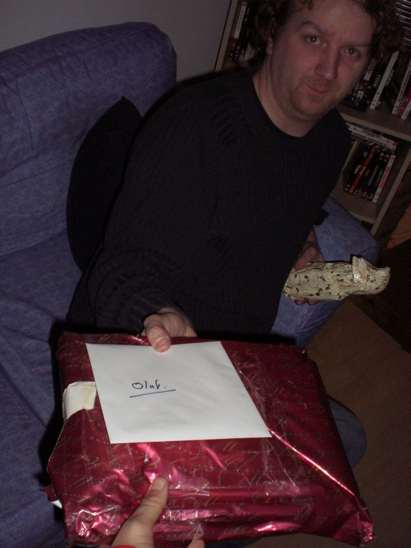 Last Xmas gift ever from Rob