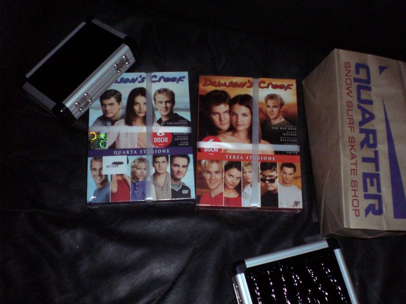 One more series and I'll have all Dawson's Creek seasons!